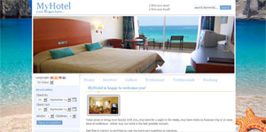 MyHotel front-end